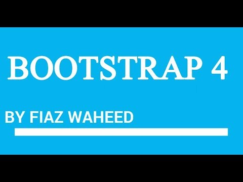 Bootstrap Containers .Lec-6|Bootstrap 4 tutorials for beginners in Urdu/Hindi| - YouTube