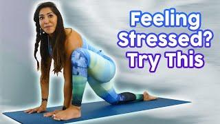 Yoga for Relaxation & Deep, Restful Sleep ♥ 20 Min Class to Help You Fall Asleep Fast - Myra Shaikh