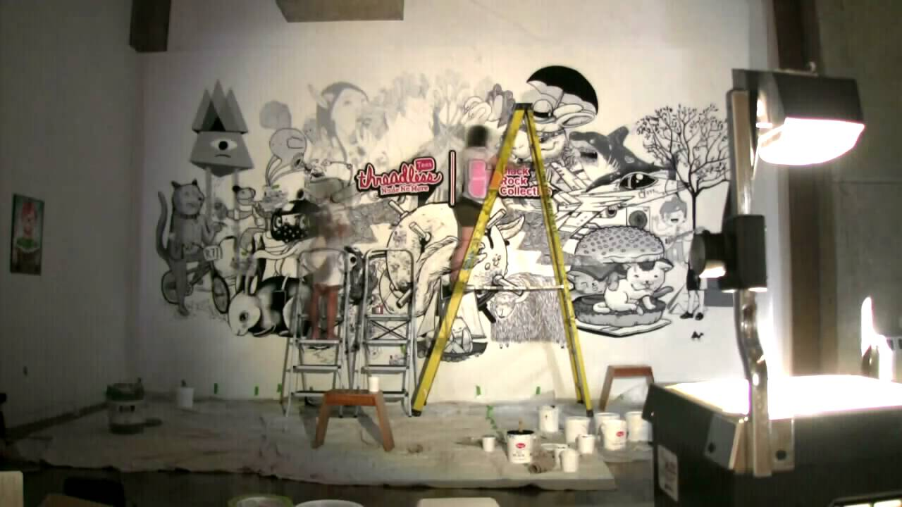 Watch The BRC Paint A Mural That Took 16.5 Hours In 55 Seconds!   YouTube Part 60