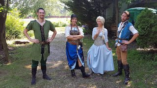PA Ren Faire — Children's  Fantasy 2018 | Elsa and Flynn Rider Cosplay