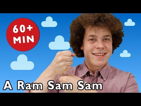 A Ram Sam Sam and More | Nursery Rhymes from Mother Goose Club!