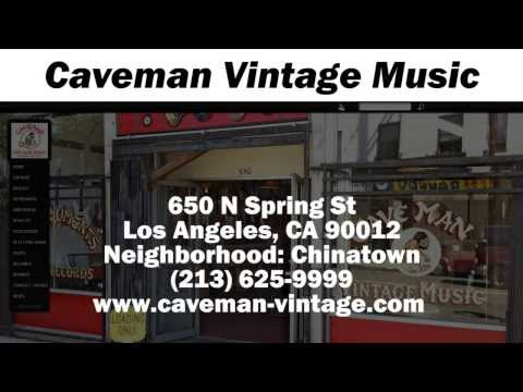 Caveman Vintage Music - REVIEWS - Los Angeles, CA Musical Instrument Stores  Reviews