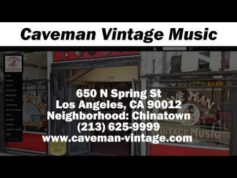 Caveman Vintage Music - REVIEWS - Los Angeles, CA Musical Instrument Stores  Reviews