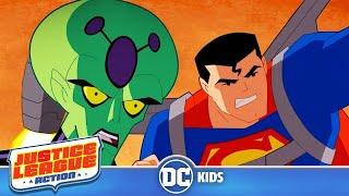 Justice League Action | Tiny Superman | DC Kids
