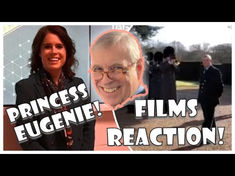 Princess Eugenie Films Prince Andrew Reaction To 59th Birthday Grenadier Guards Tribute!