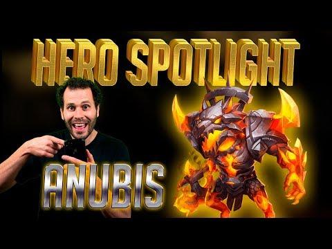 ANUBIS | Hero Spotlight! Castle Clash
