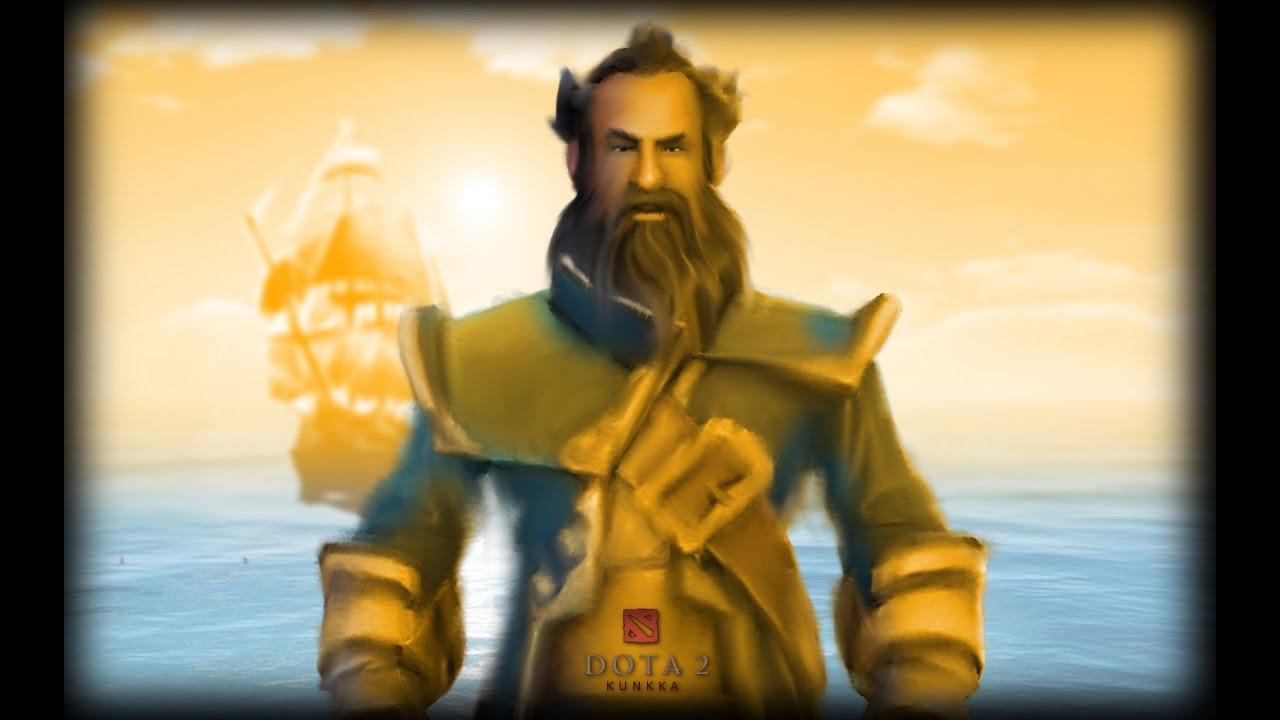 Dota 2 Гайд по герою - Kunkka   The Admiral   Admiral ...