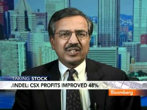 SJ's Jindel Sees `Further Growth Opportunities' for CSX