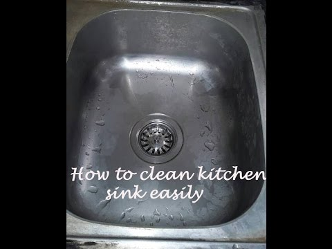 How to clean kitchen sink in hindi, Clean kitchen sink with vinegar ...