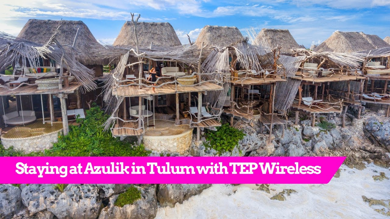 World S Best Treehouse Hotel Azulik In Tulum Mexico
