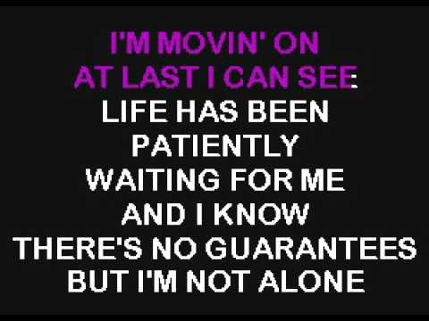 SC2409 02   Rascal Flatts   I'm Movin' On [karaoke]