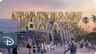 Work Continues On The 'Guardians of the Galaxy'-Themed Roller Coaster at Epcot