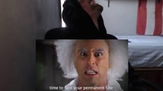 Doc Brown Vs Doctor Who. Epic Rap Battles Of History Season 2. REACTION!!!