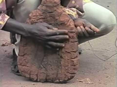 Bronze casting in Benin