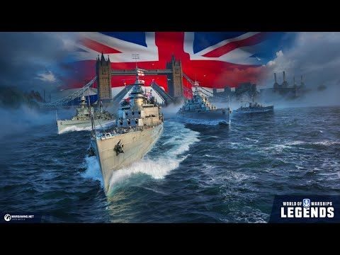 Leander Review: World of Warships: Legends - YouTube