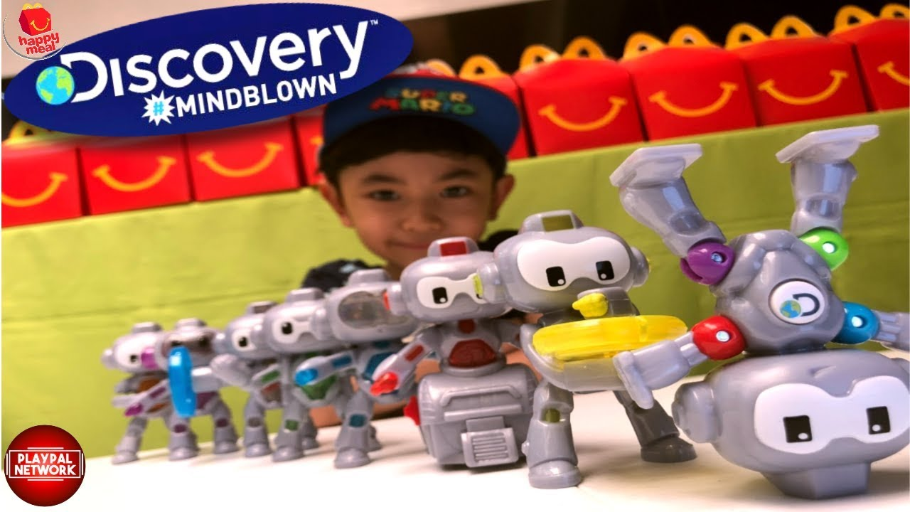 2019 Mcdonalds Discovery Mindblown 8 Toys Happy Meal