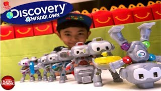 2019 Mcdonalds Discovery #mindblown 8 Toys Happy Meal | Liam Playpal Network