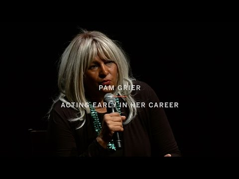 PAM GRIER | Acting Early In Her Career | TIFF Uncut