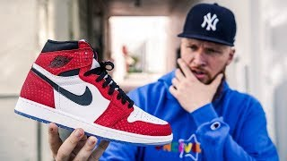 HOW GOOD ARE THE JORDAN 1 SPIDERMAN ORIGIN STORY? (Regret Paying Resell)