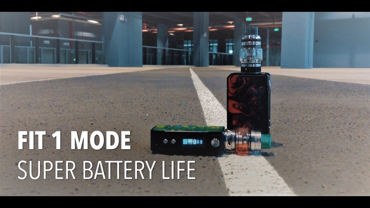 Super Battery Life with Gene Fit #1 Mode on Drag 2& Mini