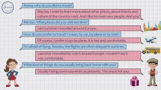 Английский язык Travelling  Путешествия
