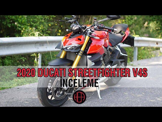 Ducati Streetfighter V4S İncelemesi (2020)