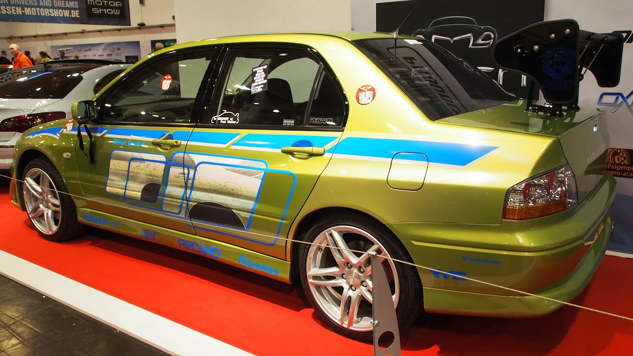 mitsubishi lancer evolution 7 2002 rs spec tuning at essen. Black Bedroom Furniture Sets. Home Design Ideas