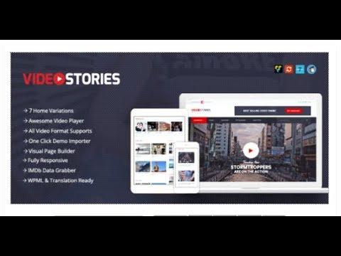 VideoStories – WordPress Video Theme | Themeforest Download