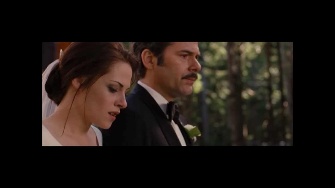 Twilight movie images edward and bella wedding