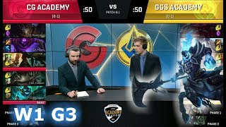 Video Clutch Gaming Academy vs Golden Guardians Academy | Week 1 S8 NA Academy League 2018 | CGA vs GGSA download MP3, 3GP, MP4, WEBM, AVI, FLV Juni 2018