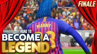 THE FINALE! CAN WE WIN THE CHAMPIONS LEAGUE?! BECOME A LEGEND EP #41