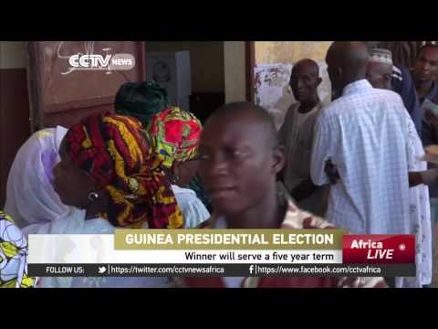 AU on Guinea Presidential elections