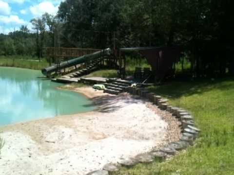Digging a pond in my backyard 9 of 9 youtube for How to build a small lake