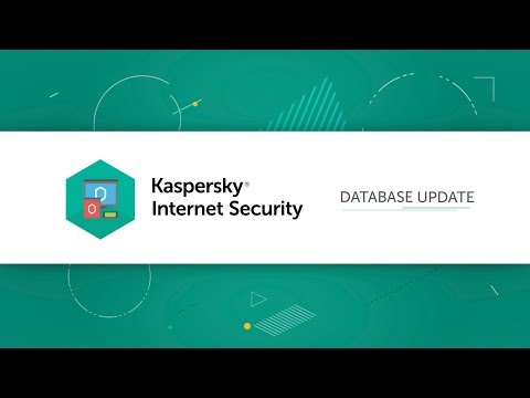 How To Update Databases In Kaspersky Internet Security 19