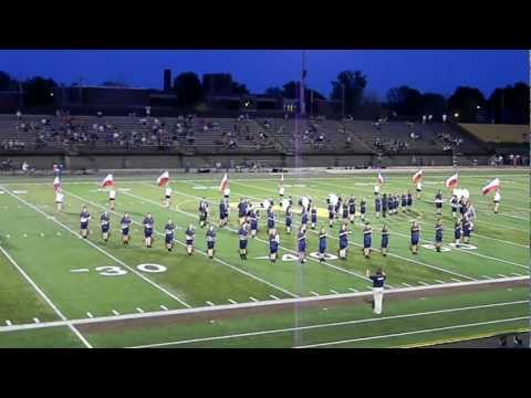 Valley Forge High School Marching Band 8-31-12