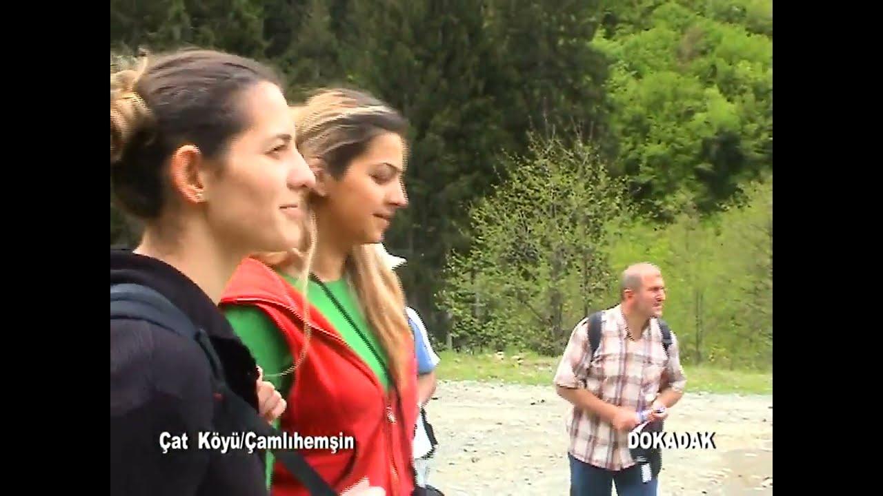 Karadeniz Çamlıhemşin ÇAT Köyü  Dokadakla Doğa Yürüyüşü