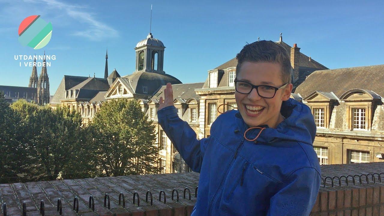 Tobias Skjold Arnesen: Videregående i Frankrike