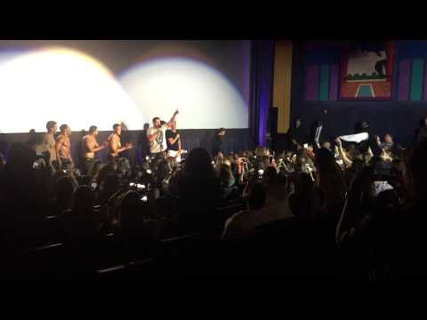 Cast of Magic Mike XXL surprise a theater full of fans Channing Tatum