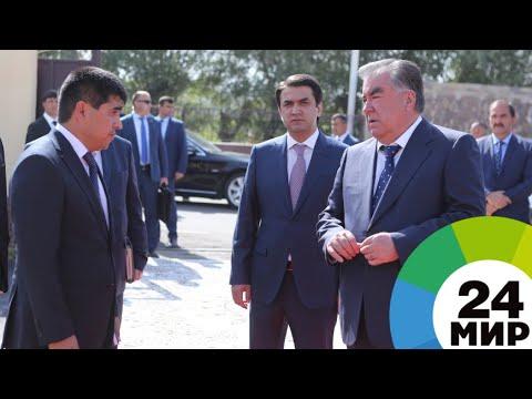 Рахмон дал старт асфальтобетонному производству в Душанбе