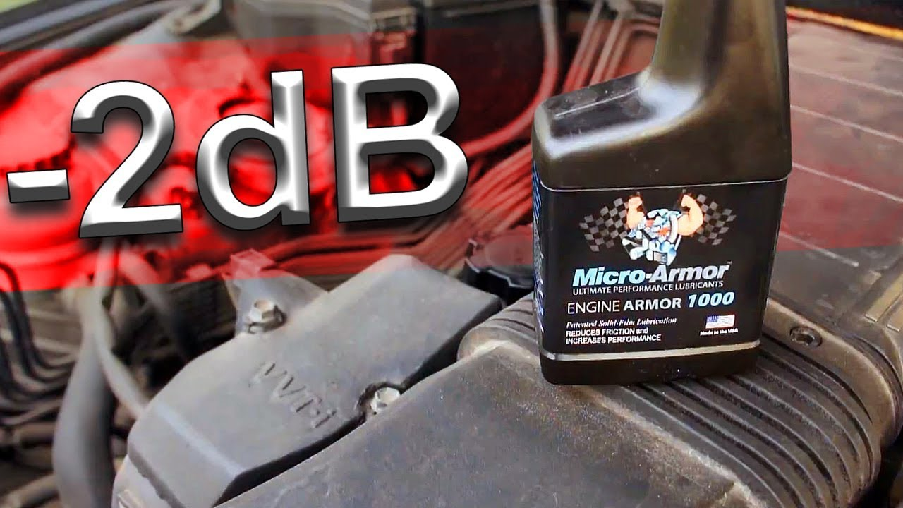 Micro-armor 1000 - I silenced the engine by -2db!