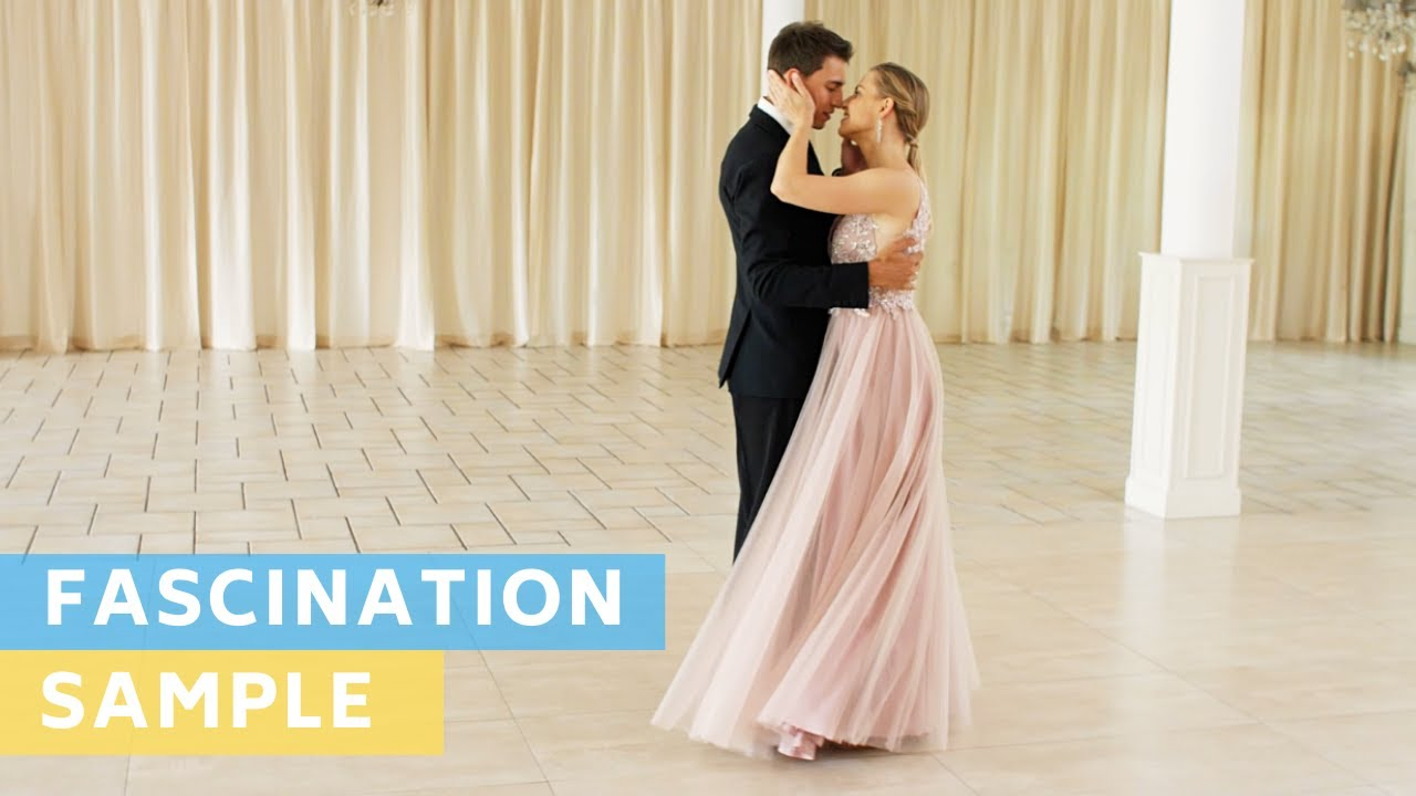Sample Tutorial : Fascination - Nat King Cole | Waltz | Wedding Dance Choreography |