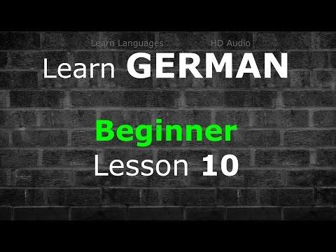 Learn German | Beginner Lesson 10 | 80 Min | Basic Vocabulary 500   Common Phrases   Verbs | LLHD♫