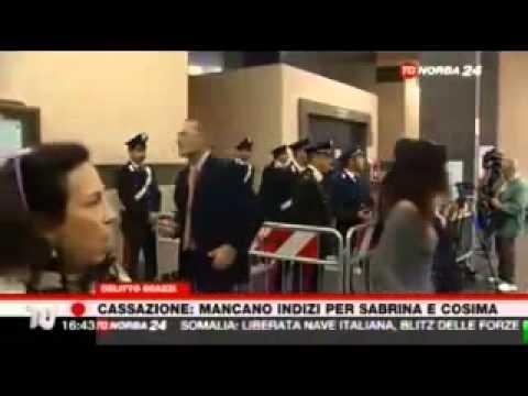 Francesco Persiani di TG Norba sentenza  Cassazione sul delitto di Sarah Scazzi.