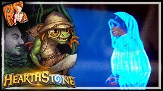 Help Me Sir Finley, You're My Only Hope - Rastakhan's Rumble Hearthstone