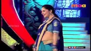 Andagada andagada song from Gharshana Movie performed by sizzling Anasuya