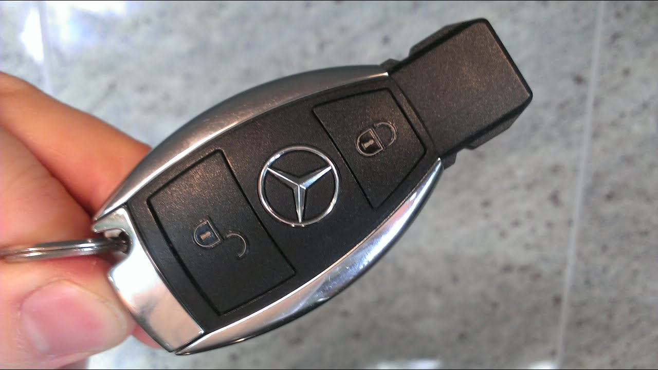 Mercedes key battery change a class replace remote fob a for Mercedes benz keys replacement cost