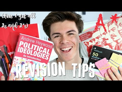 GCSE and A Level Revision Tips! (How I Got All As + A*s) | Jack Edwards