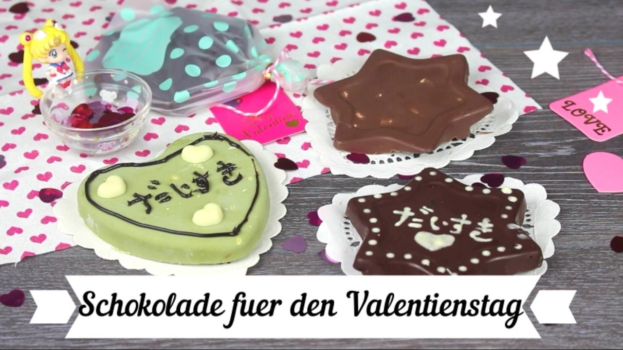 Schokolade valentinstag