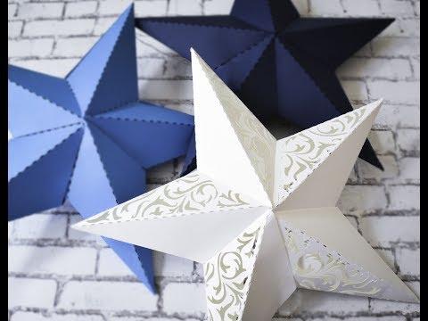 3D Paper Star Lumieres
