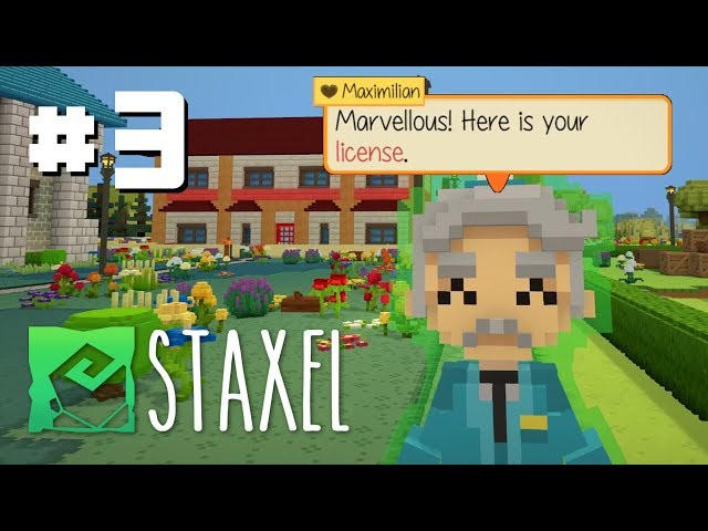 Let's Play Staxel - Ep 3 - New Beginnings & New Game Features